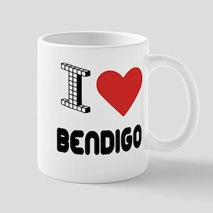 I Love Bendigo City Mug