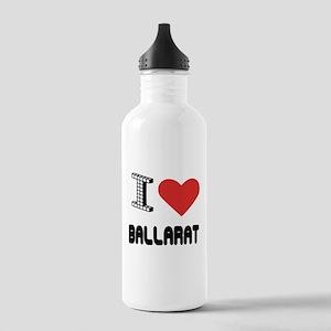 I Love Ballarat City Stainless Water Bottle 1.0L