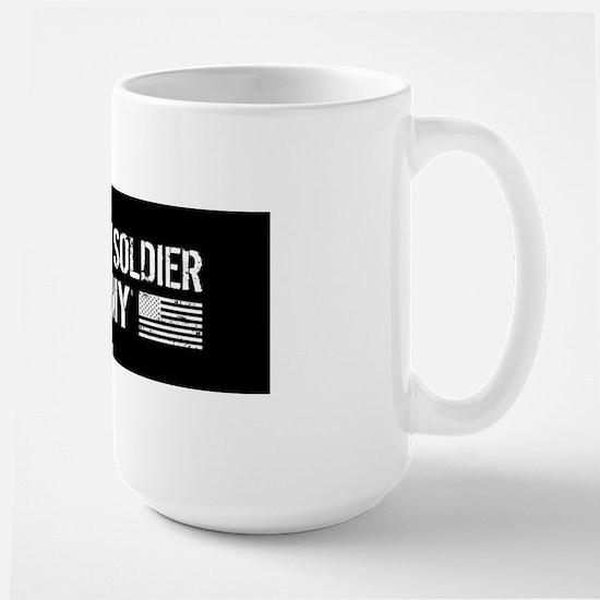 U.S. Army: I Love My Soldier (Black) Mugs