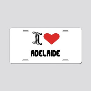 I Love Adelaide City Aluminum License Plate