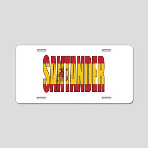 Santander Aluminum License Plate