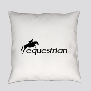 equestrian horse  Everyday Pillow
