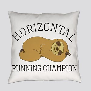 Horizontal Running Champion - Slot Everyday Pillow
