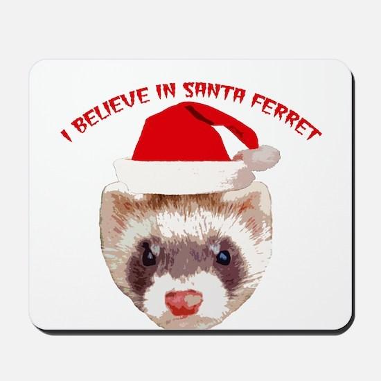 Santa Ferret Mousepad