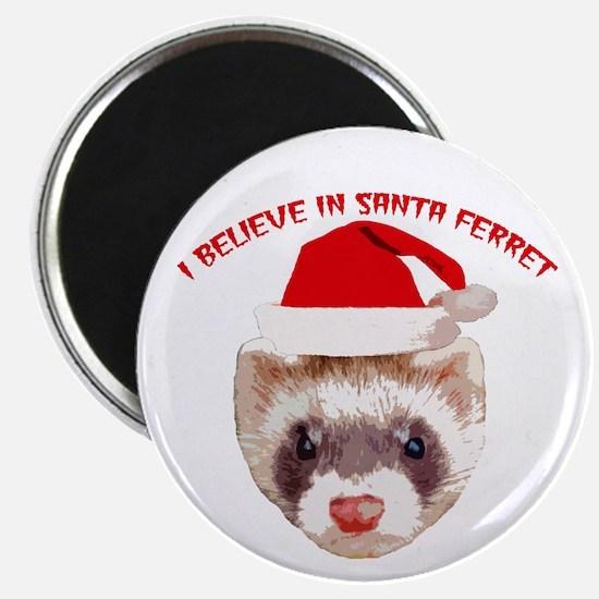 Santa Ferret Magnet