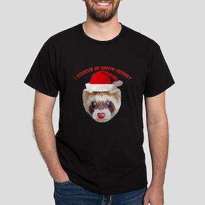 Santa Ferret Dark T-Shirt