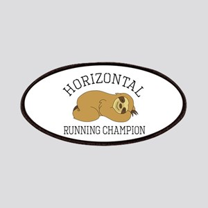 Horizontal Running Champion - Sloth Patch