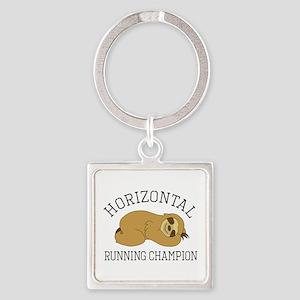 Horizontal Running Champion - Sloth Keychains