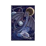 Celestial Dragon Rectangle Magnet