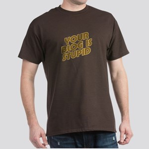 Stupid Blog Dark T-Shirt
