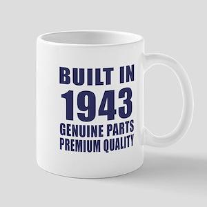 Built In 1943 Mug