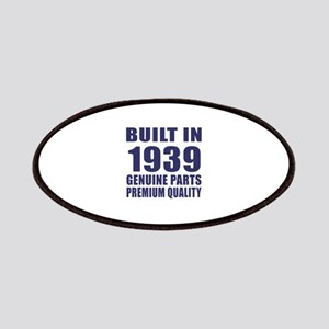 Built In 1939 Patch