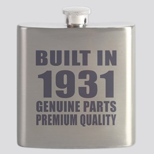 Built In 1931 Flask