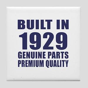 Built In 1929 Tile Coaster