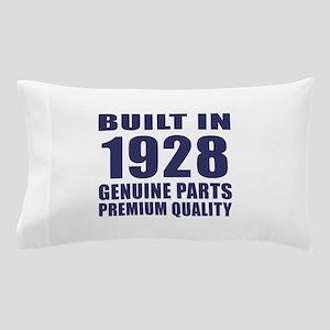 Built In 1928 Pillow Case