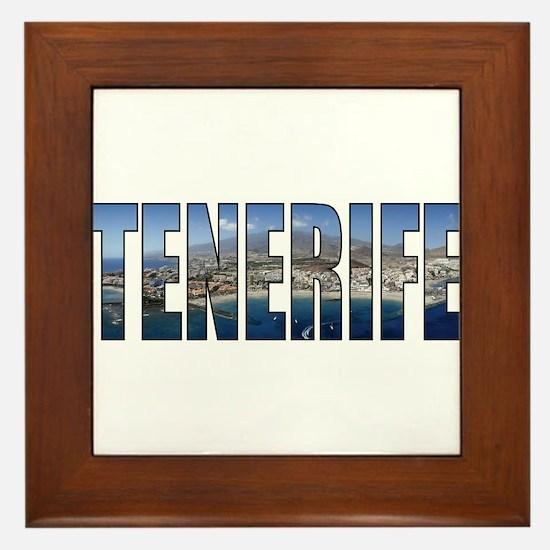 Tenerife Framed Tile