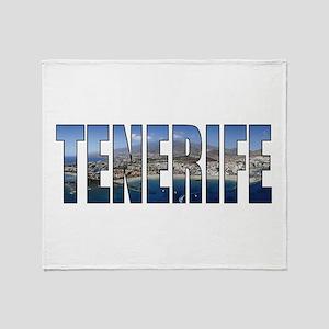 Tenerife Throw Blanket
