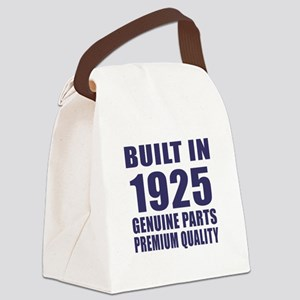 Built In 1925 Canvas Lunch Bag