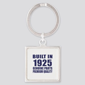 Built In 1925 Square Keychain