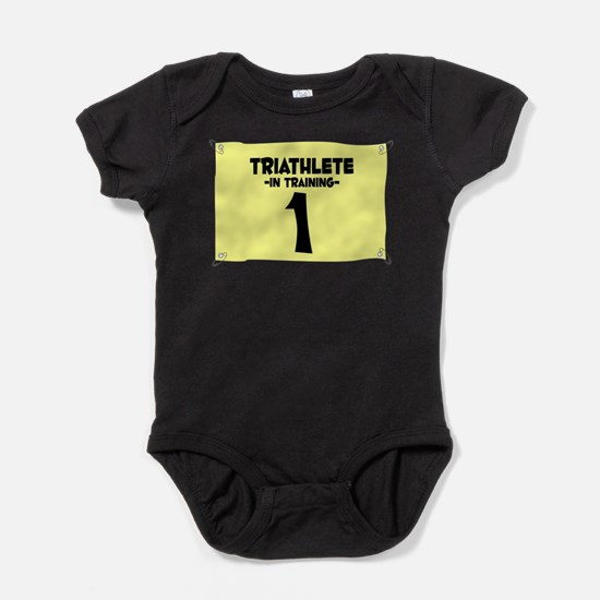 Cute Cycling baby Baby Bodysuit