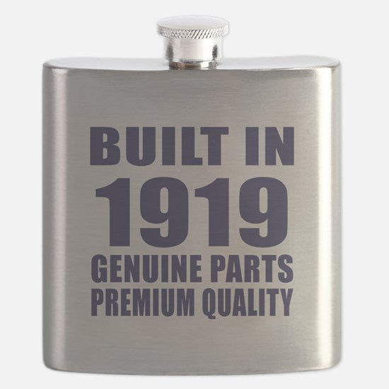 Built In 1919 Flask