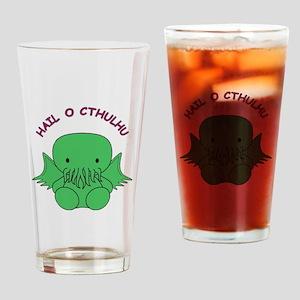 HailOCthulhu Drinking Glass