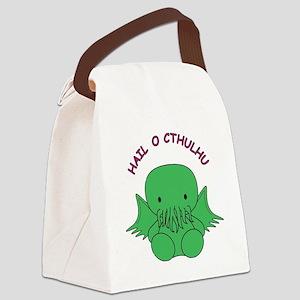HailOCthulhu Canvas Lunch Bag