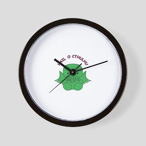HailOCthulhu Wall Clock