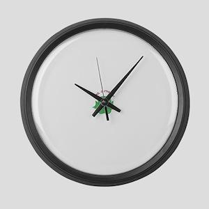 HailOCthulhu Large Wall Clock