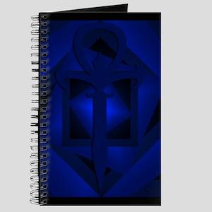 Gothic Ankh Journal (Blue)