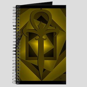 Gothic Ankh Journal (Gold)