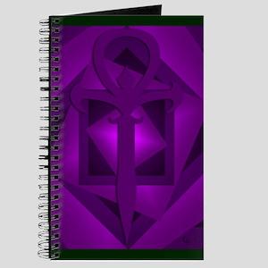Gothic Ankh Journal (Purple)