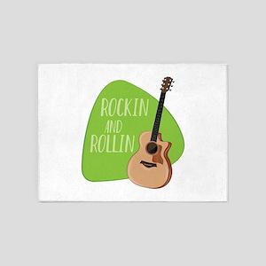 Rockin Rollin 5'x7'Area Rug
