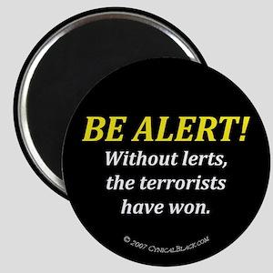 Be alert Magnet