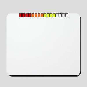 16 Step Drum Machine Mousepad