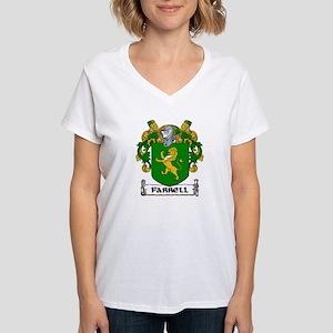 Farrell Coat of Arms Women's V-Neck T-Shirt