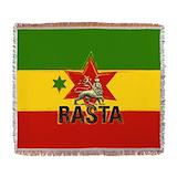 Rastafarianism Woven Blankets