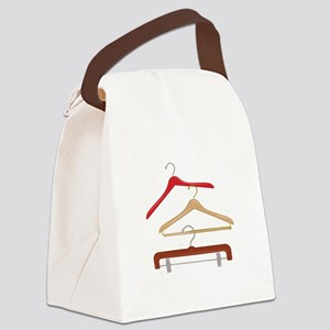 Clothes Hangers Canvas Lunch Bag