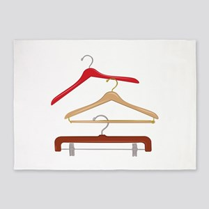 Clothes Hangers 5'x7'Area Rug