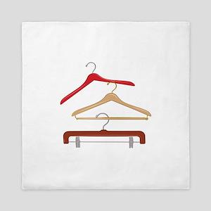 Clothes Hangers Queen Duvet
