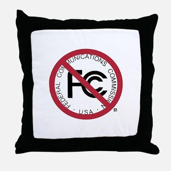 Anti-FCC Throw Pillow
