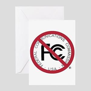Anti-FCC Greeting Card