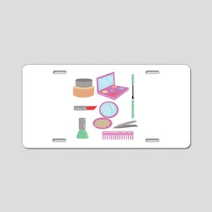 Beauty Products Aluminum License Plate