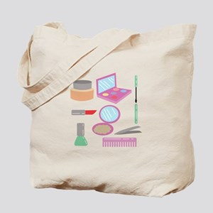 Beauty Products Tote Bag
