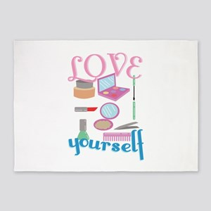 Love Yourself 5'x7'Area Rug