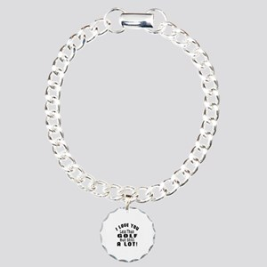 I Love You Less Than Gol Charm Bracelet, One Charm