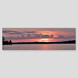 Lake Vermilon Sunset Bumper Sticker