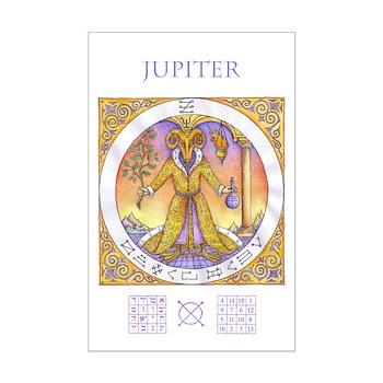 Ram Headed Jupiter 11 x 17 Mini Poster Print