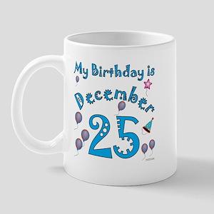 December 25th Birthday Mug