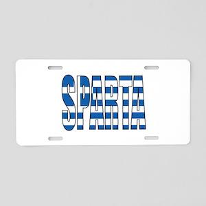 Sparta Aluminum License Plate